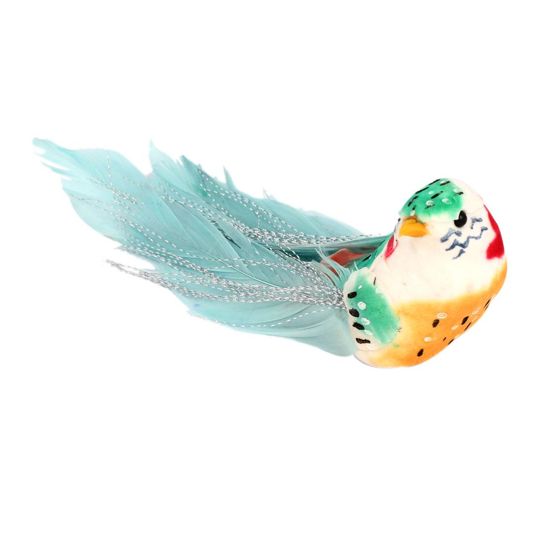 Home Fridge Door Ornament Green Craft Bird Magnetic Sticker
