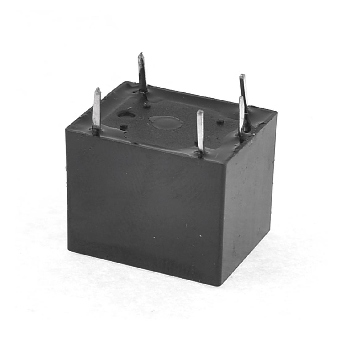 JQC-3F(T73)-12VDC DC 12V Coil Mini PCB Type General Relay 5 Pin