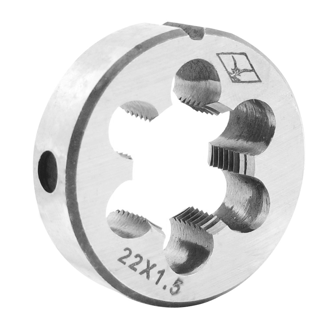 HSS M22 x 1.5 Thread Metric Split Round Adjustable Die
