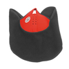 Outdoor Sports Black Red Fleece Neoprene Warm Neck Half Bicycle Face Mask