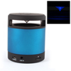 Black Blue Cylinder Touch Button Rechargeable Stereo Wireless bluetooth Speaker