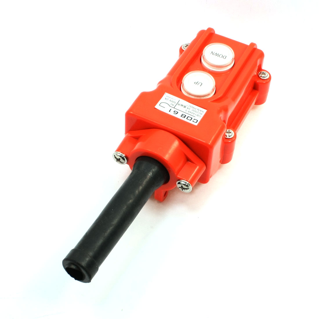 Up Down Rainproof Hoist Pendant Control Station Pushbutton Switch COB-61