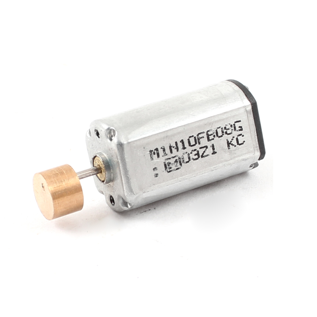 Silver Tone DC 6V 10000RPM 0.04A Mini Vibration Motor Spare Part