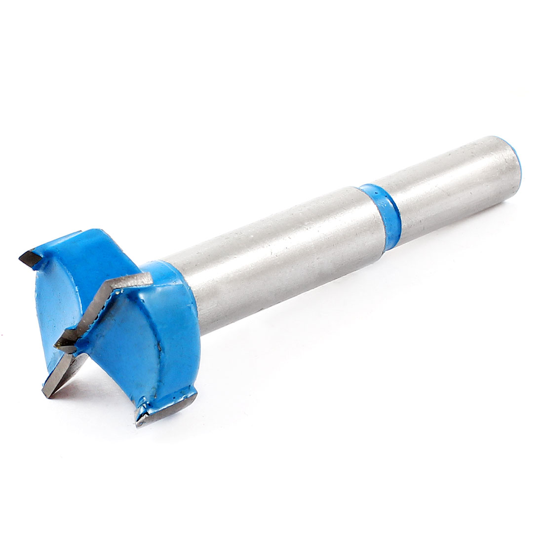 Carpenter Carbide Tipped 16mm Diameter Hinge Boring Bit Blue Silver Tone