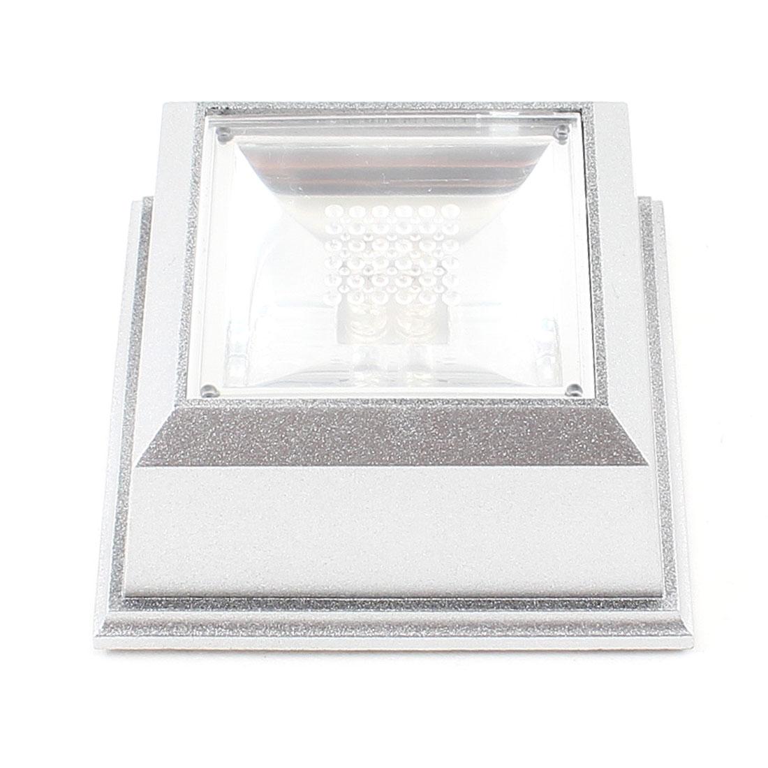 Bedroom Decor Color Squared Plastic Crystal Display Base Stand LED Light