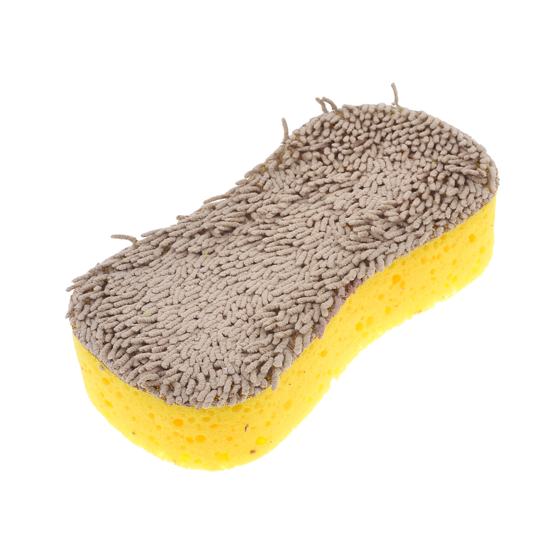 Yellow Soft Sponge Scratch Resistant Glass Wash Duster Cleaner for Car Cleaning