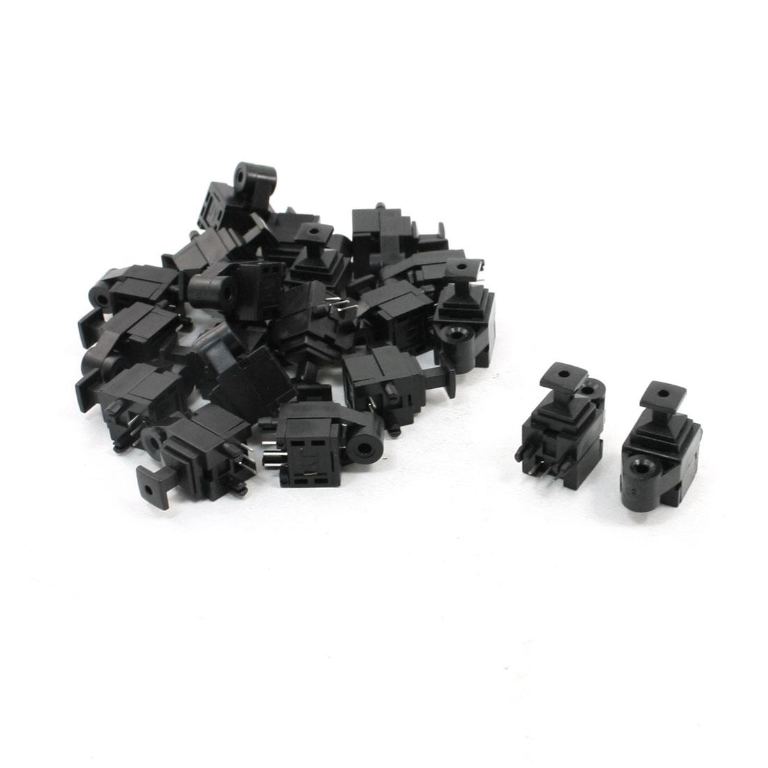 30 Pcs Audio Video Optical Fibers Jack Connector Sockets