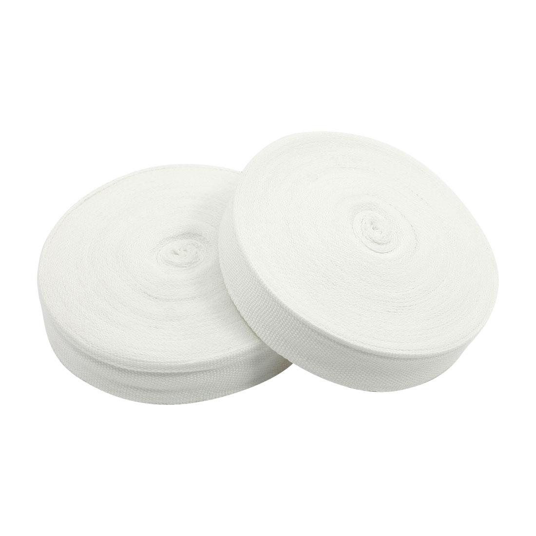 2pcs 20mmx0.25mm Insulating Tape Kit White