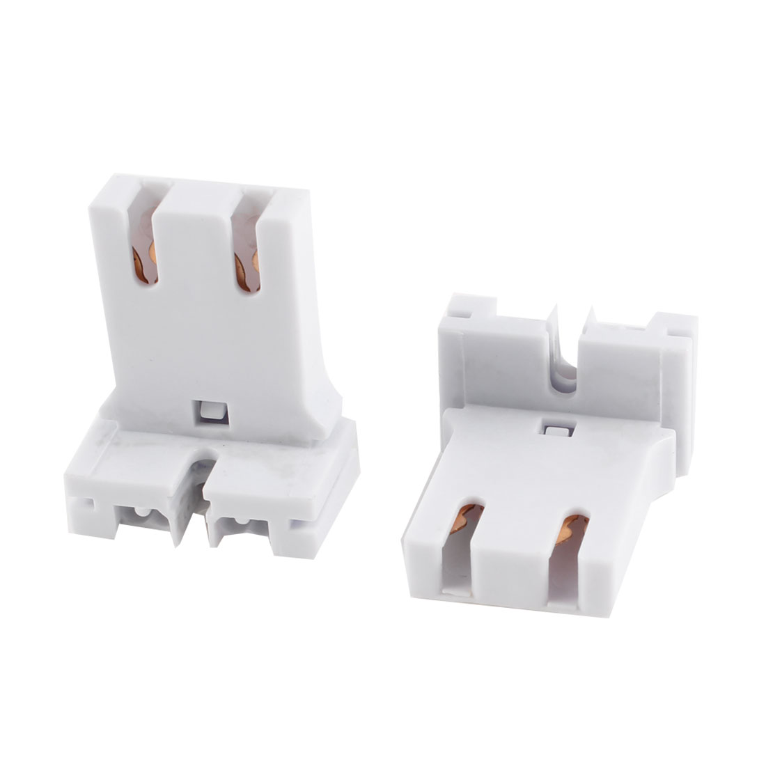 Pair U-Shaped T8 T12 Fluorescent Lamp Holder Light Socket