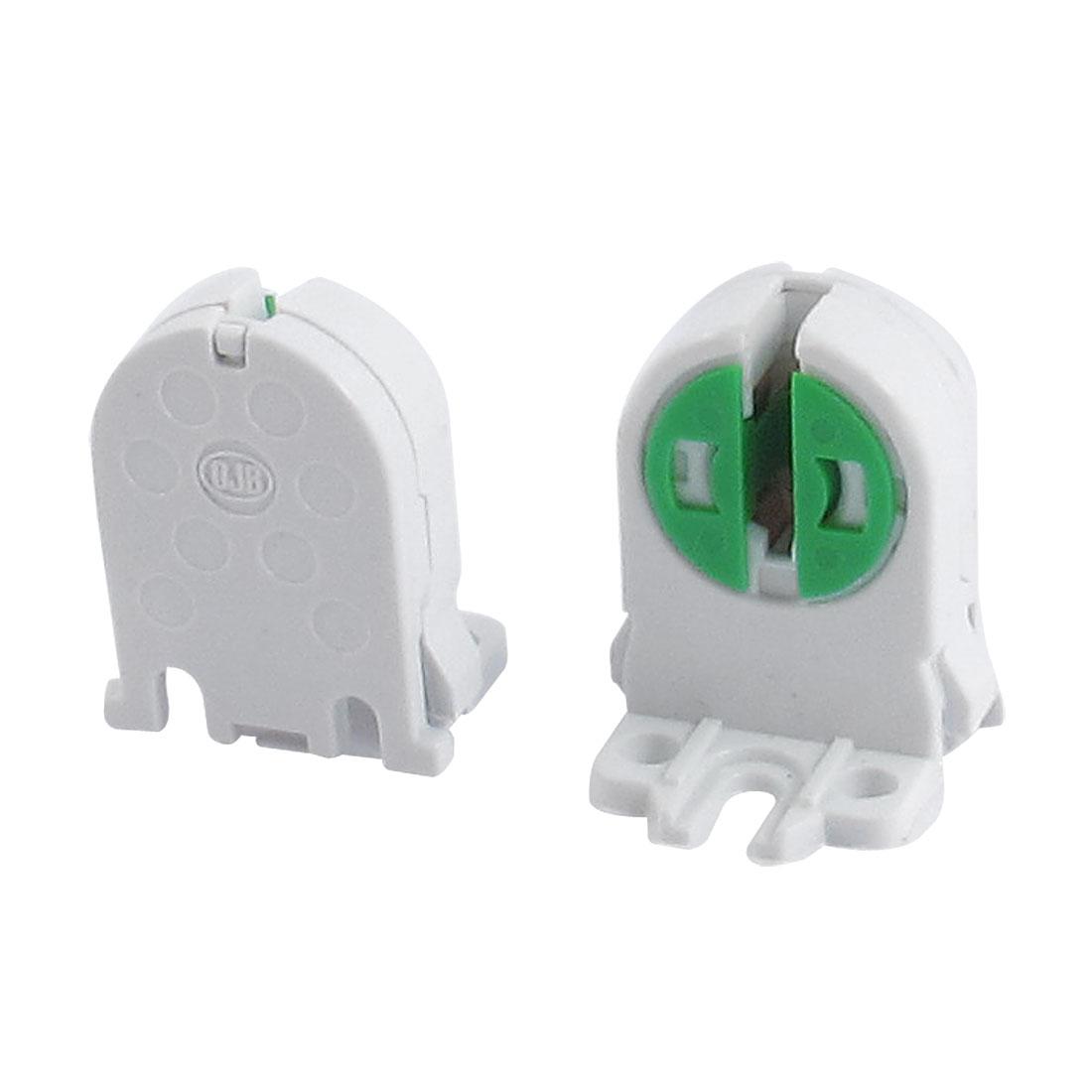 2 Pcs Fluorescent Lamp Holder Sockets for T5 Tube Light