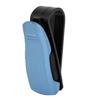 Blue Plastic Eyeglass Organizer Sunglass Card Clip Holder for Auto Car