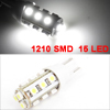 Car T10 W5W White 1210 SMD 15 LED Bulb License Plate Light Lamp