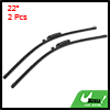 "2 Pcs 22"" Windscreen Bracketless Wiper Blade for 2003-2005 Audi A6"