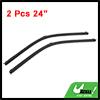 """2 Pcs 24"""" Windscreen Bracketless Wiper Blade for Mercedes Benz E350"""