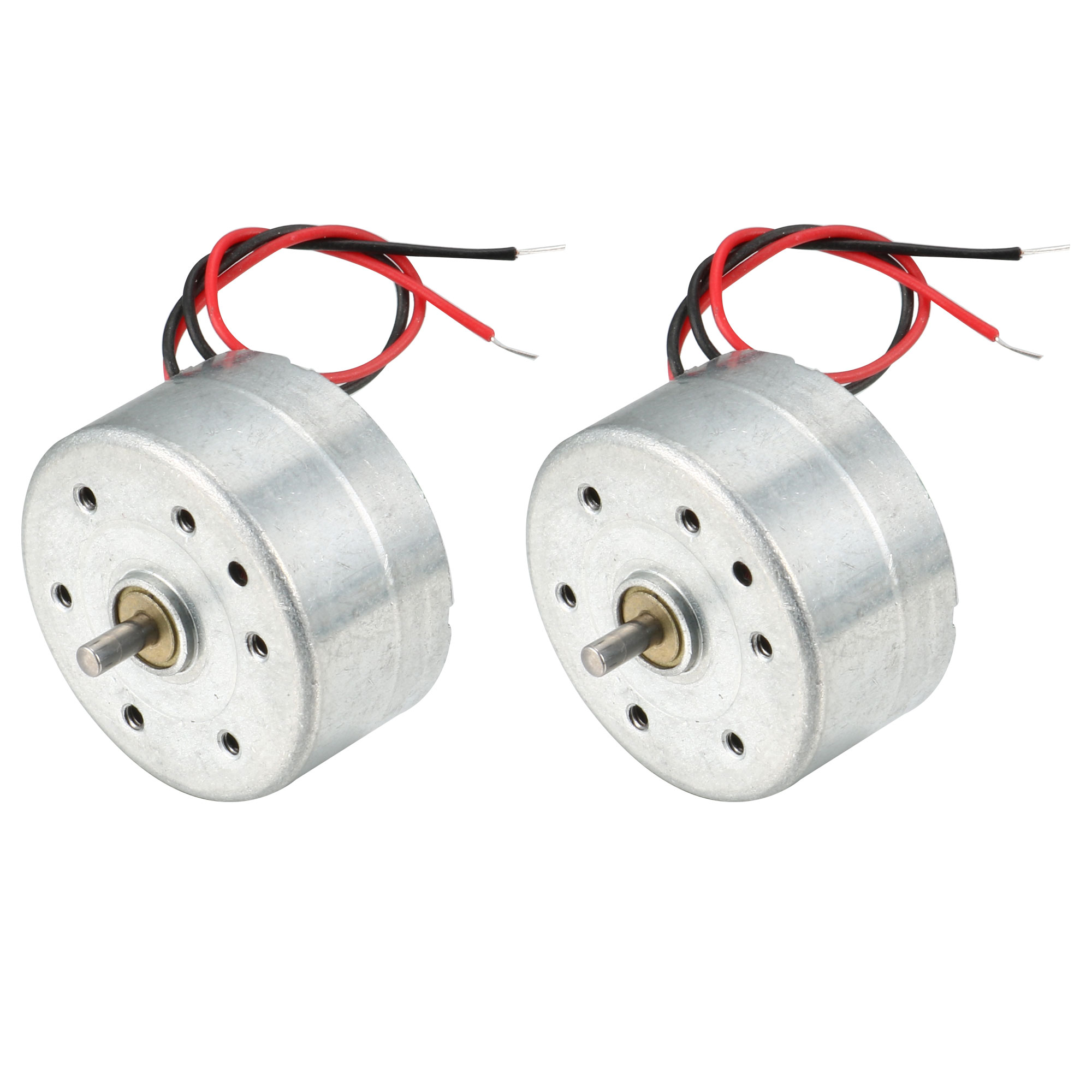 2PCS RC300-FT-08800 6000RPM DC 1.5-9V Micro Motor for CD Player
