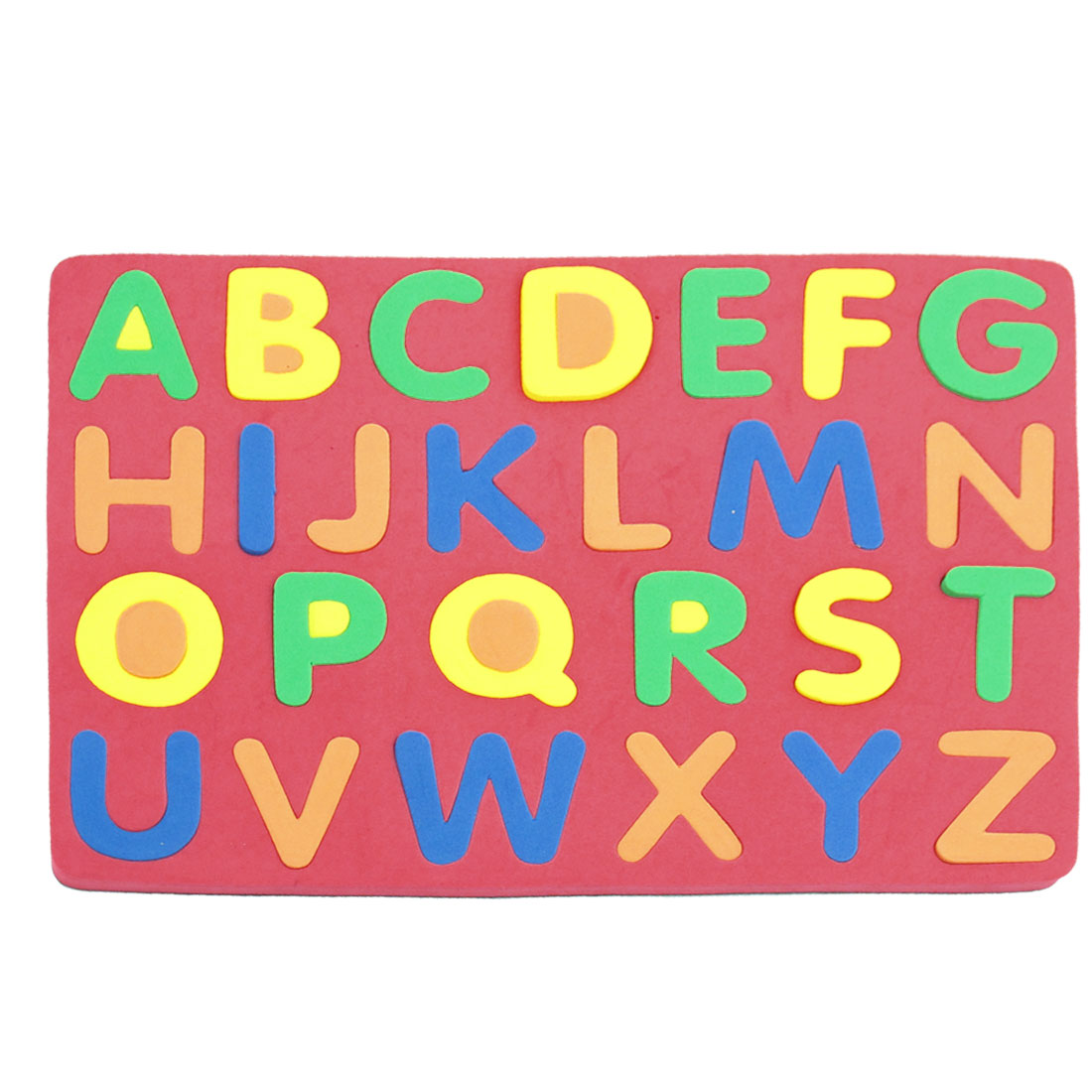 Colorful Foam English Letters Alphabet Stamp Combination Set