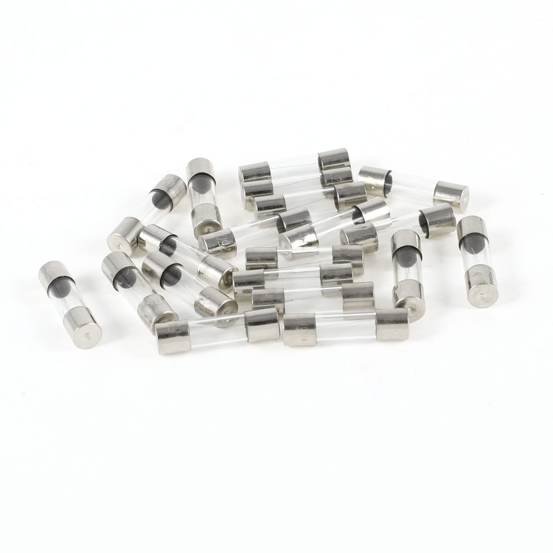 20pcs Fast Blow Glass Tube Fuse 0.5A 250V 5mm x 20mm
