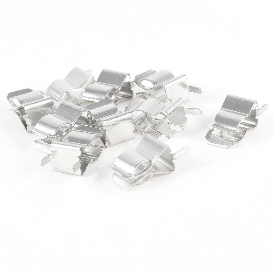 10pcs 6mm x 30mm Glass Tube Quick Fast Blow Fuse Clips Holder