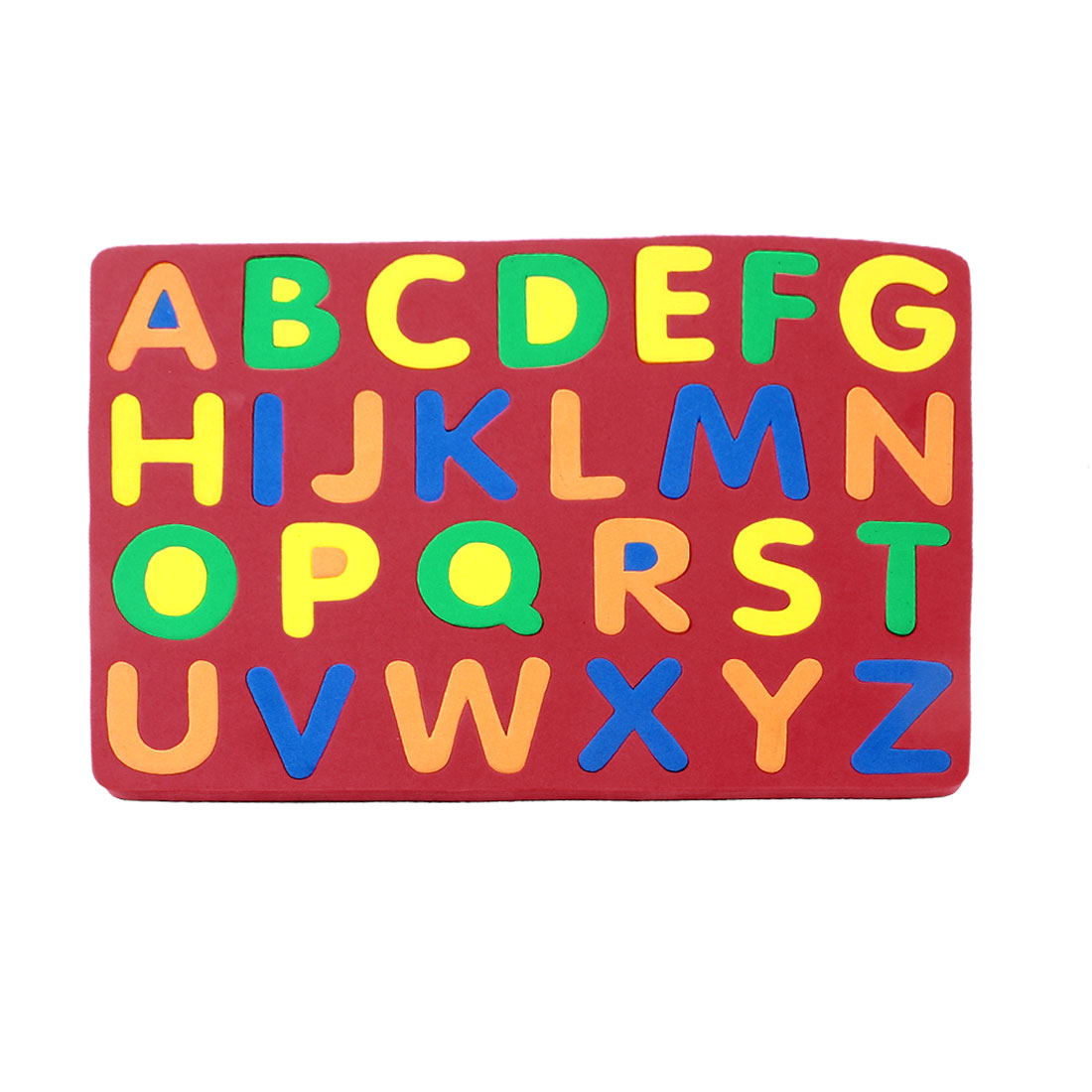 Kids Foam 26 Capital English Letters Magnetic Education Jigsaw Puzzle Red