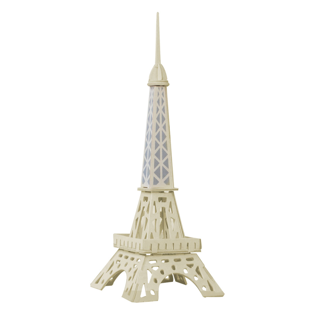 Woodcraft Eiffel Tower Model Educational 3D Assemble Puzzle Toy for Kids