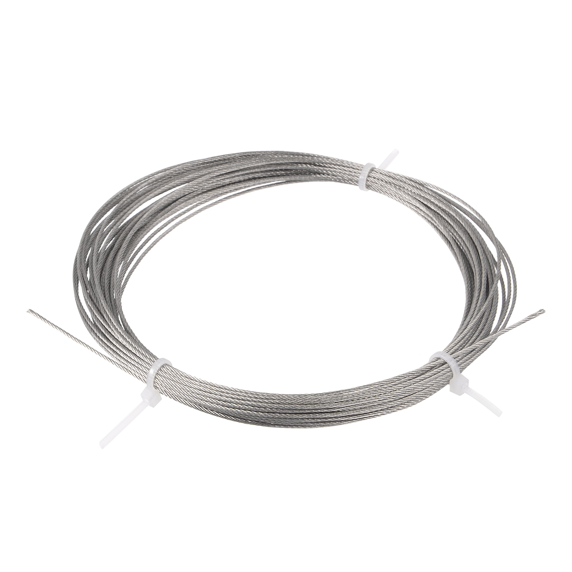 Grinding Machine 1mm Dia 7x7 10M Long Stainless Steel Wire Rope Cable