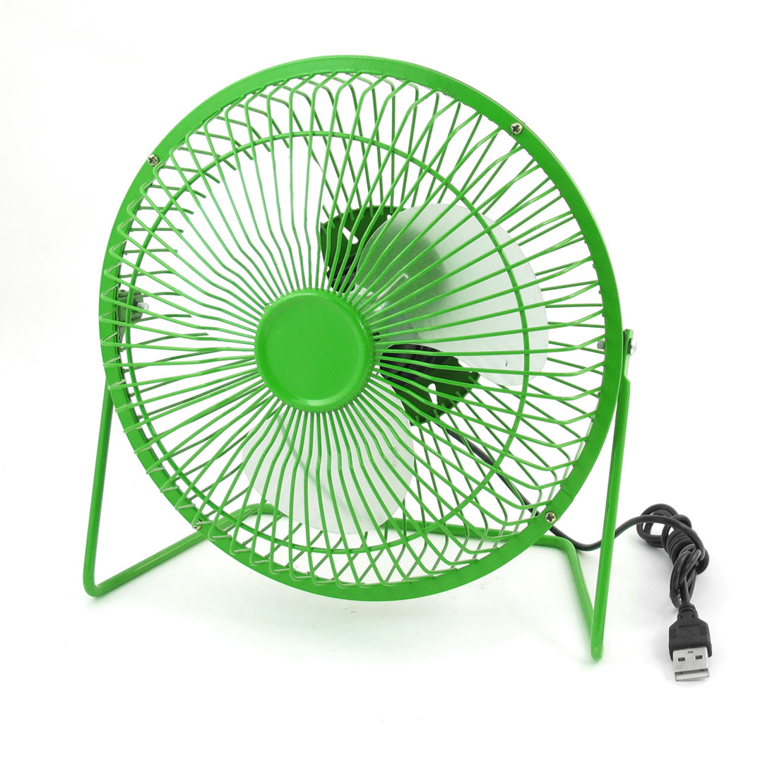 Adjustable Angle USB Connector Cooler Cooling Desk Mini Fan Green