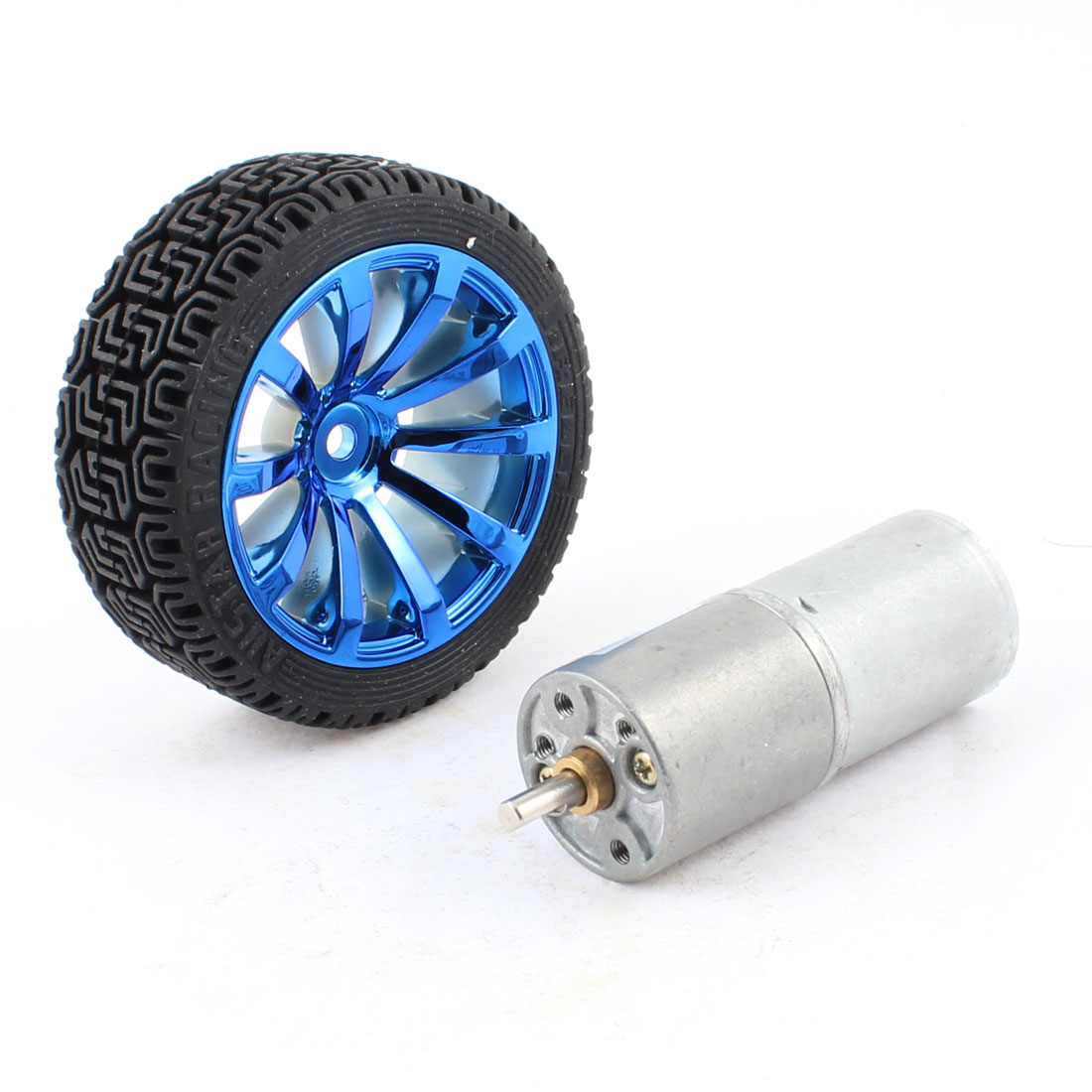 24RPM 12V Gear Box N20 DC Motor + Tire Wheel for Remote Control Car