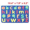 Kids 26 English Letters Magnetic Education Foam Jigsaw Puzzle Yale Blue
