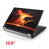 "15.6"" 14"" 13"" 11.6"" 10"" Laptop PC Meteorites Pattern Sticker Decal Black Orange"