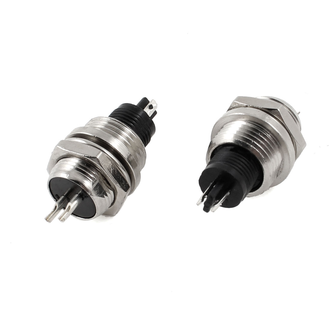2 Pcs Panel Mount Universal Aviation Connector Socket 12mm