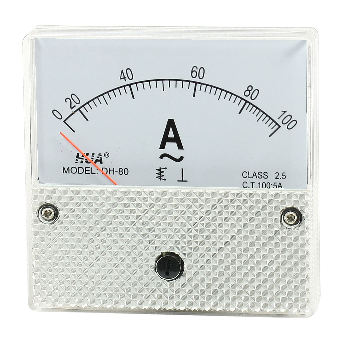 DH-80 AC 0-100A Fine Tuning Dial Current Test Panel Meter Ammeter