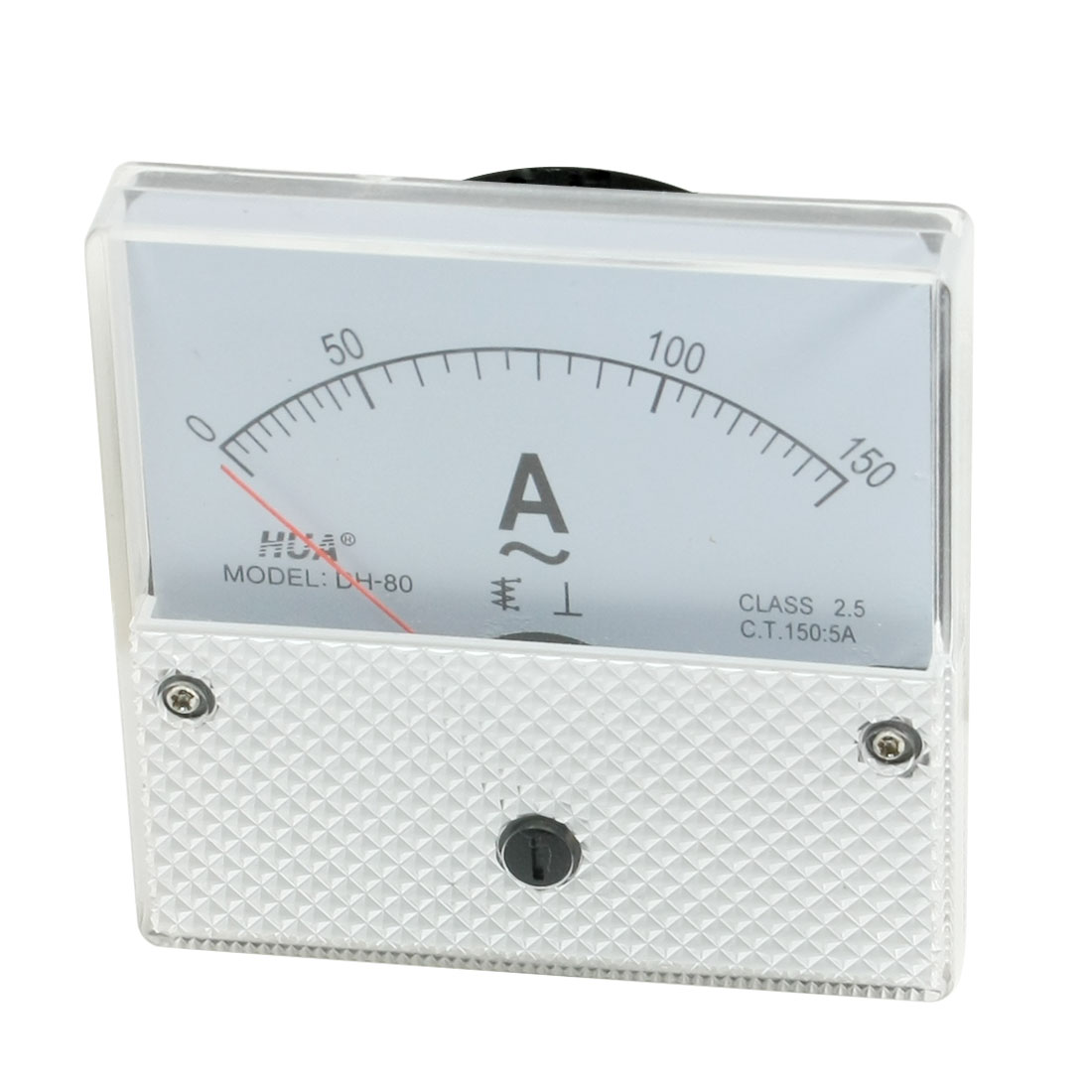 Class 2.5 Accuracy AC0-150A Dial Analog Panel Meter Gauge DH-80
