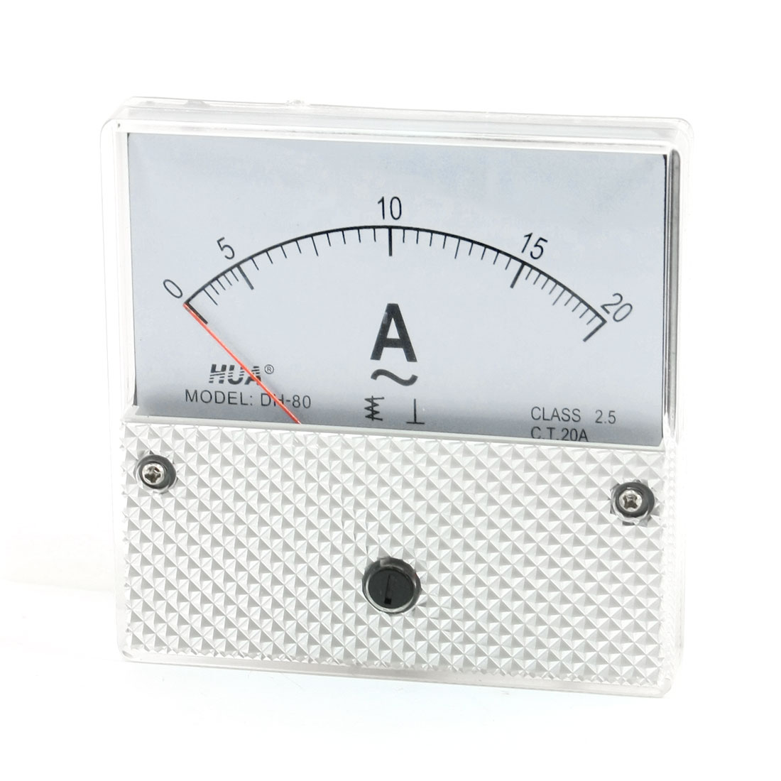 DH-80 AC 0-20A Fine Tuning Dial Current Test Ampere Meter Ammeter