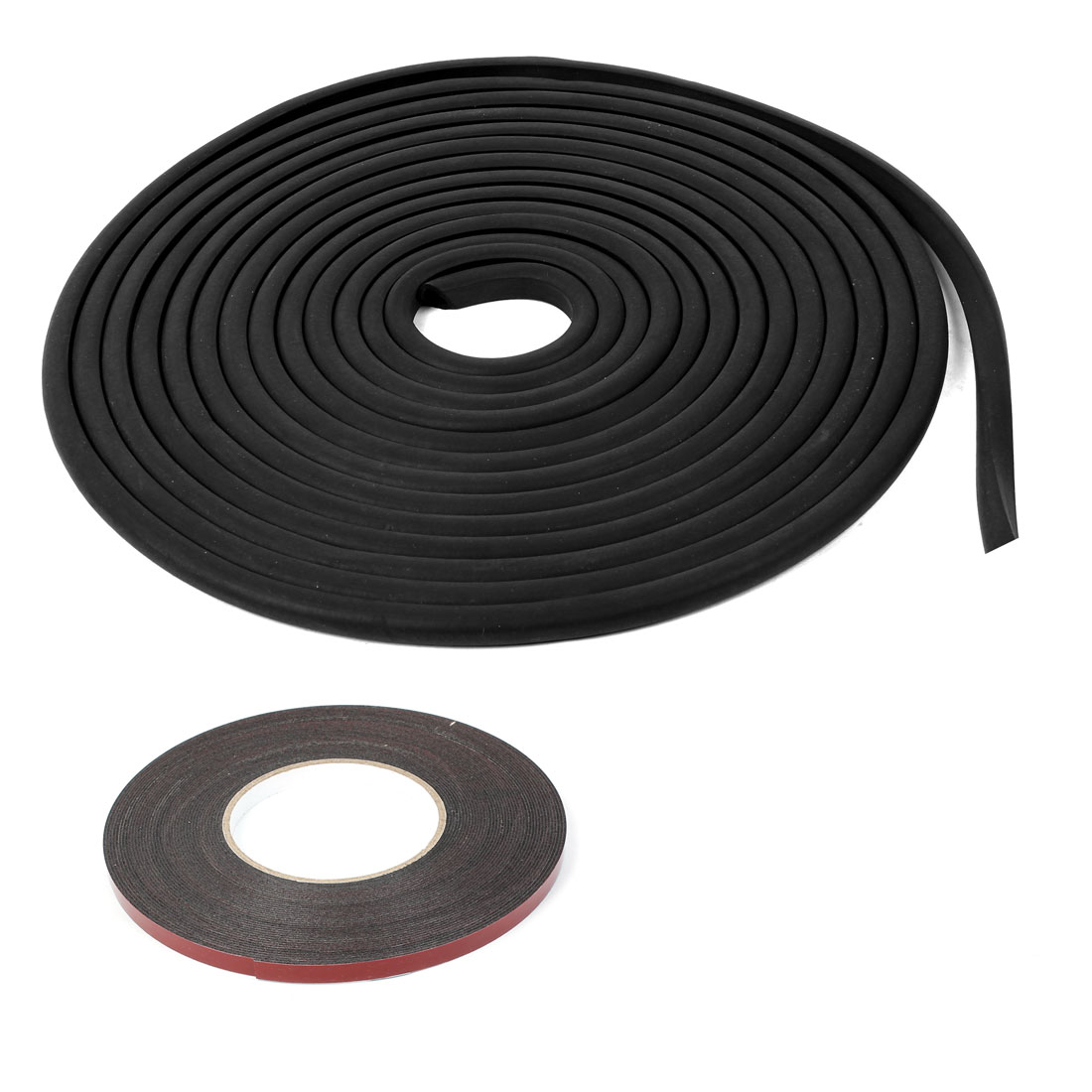 Automobile Car Black Door Window Noise Seal Strip Bar 15M Long Size S