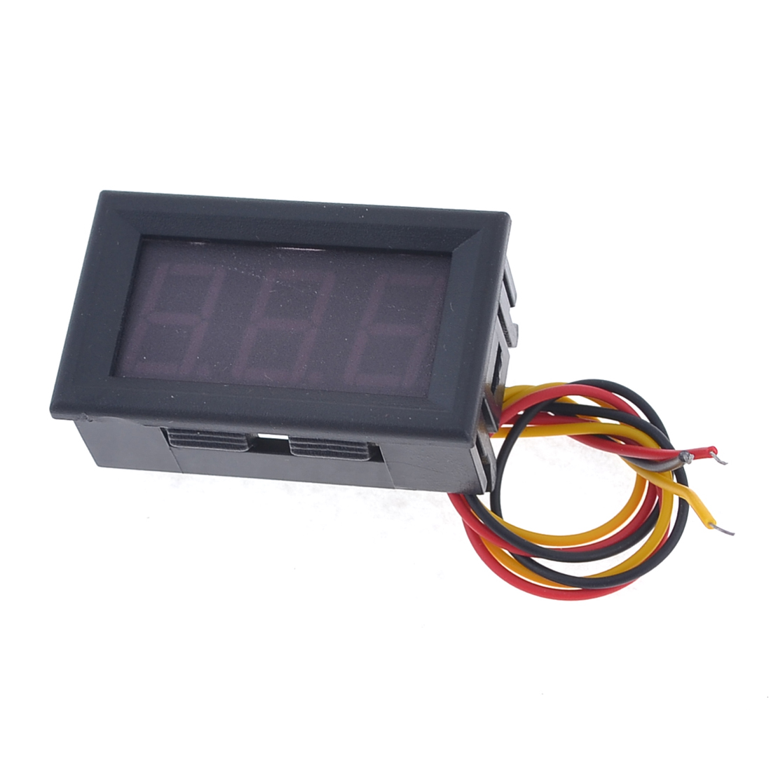 DC 9V-54V Yellow LED Display Electric Voltage Meter Auto Car Battery