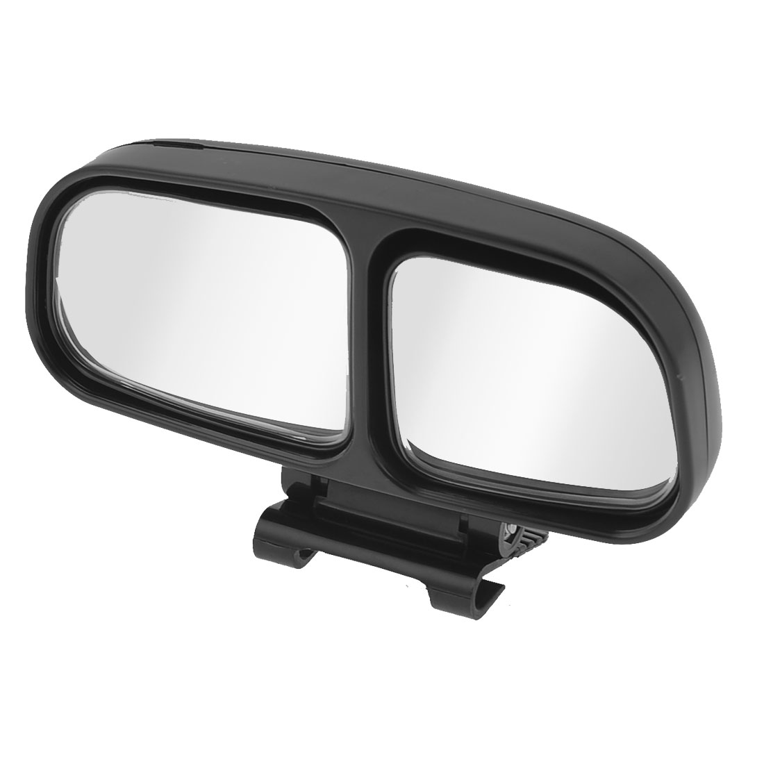 Black Frame Left Side Rear View Blind Spot Auxiliary Mirror for Truck Car