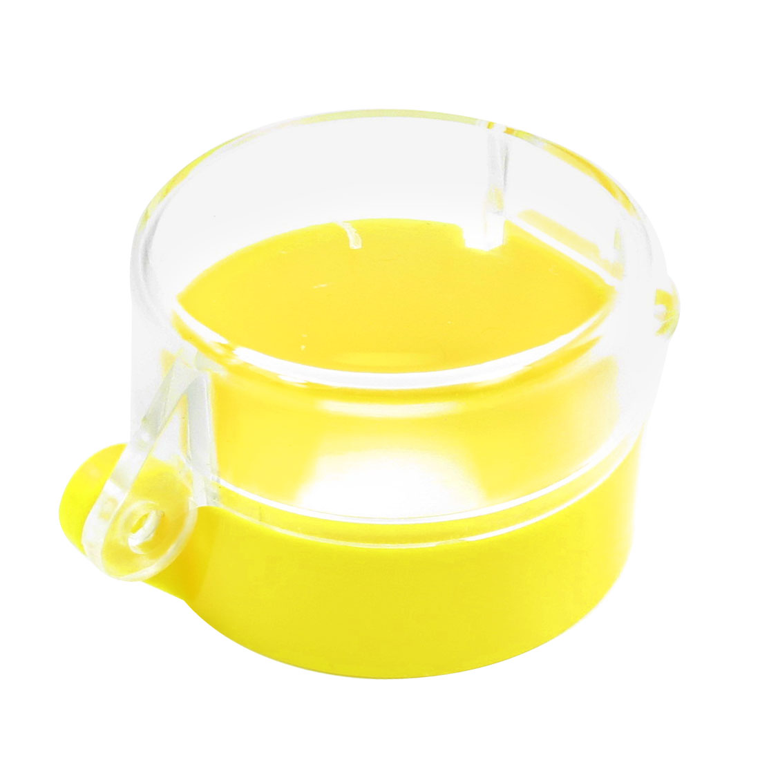 Clear Yellow Plastic Push Button Switch Control Box