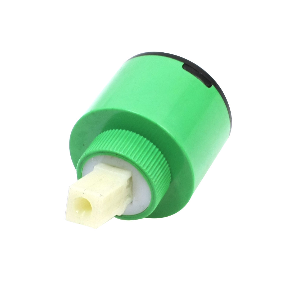 Green Plastic Housing 35mm Faucet Mixer Tap Ceramic Cartridge Valve