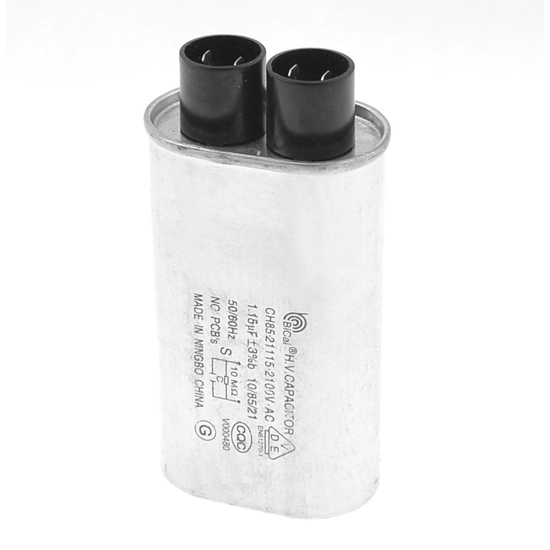 1.15uF 2100VAC 50/60Hz Microwave Oven High Voltage HV Capacitor