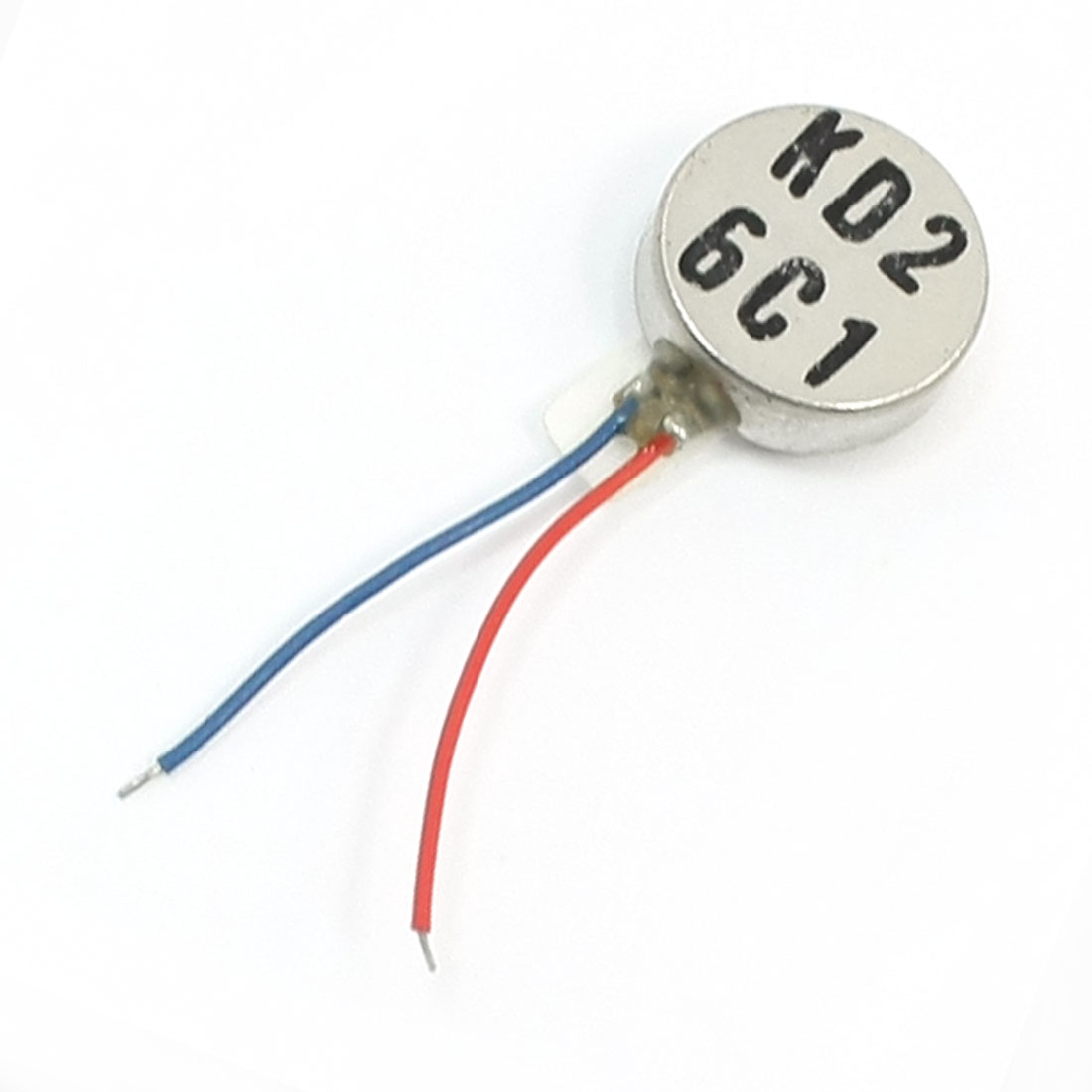 Cell Phone Vibrating Coin Type Mini Vibration Motor 12000RPM 10mm x 3.4mm