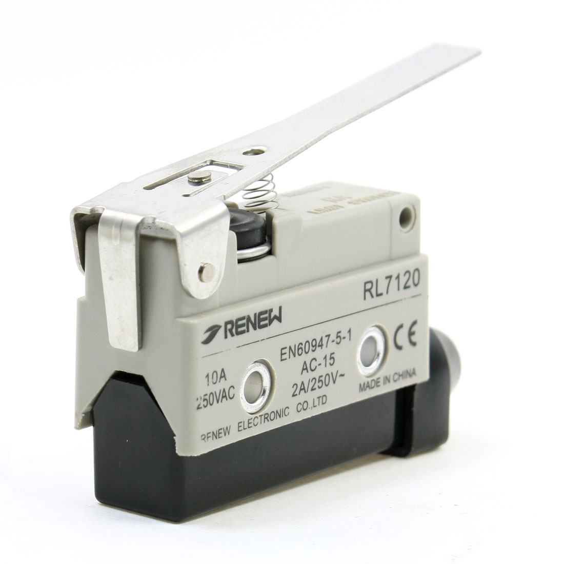 RL7120 Screw Terminals Long Hinge Lever Enclosed Limit Switch SPDT