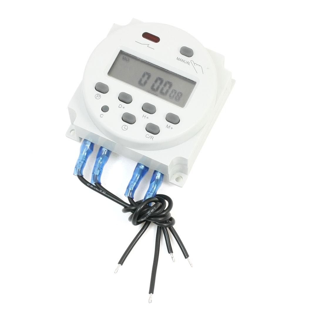 Digital LCD Display Programmable Timer AC/DC 12V Time Switch CN101A