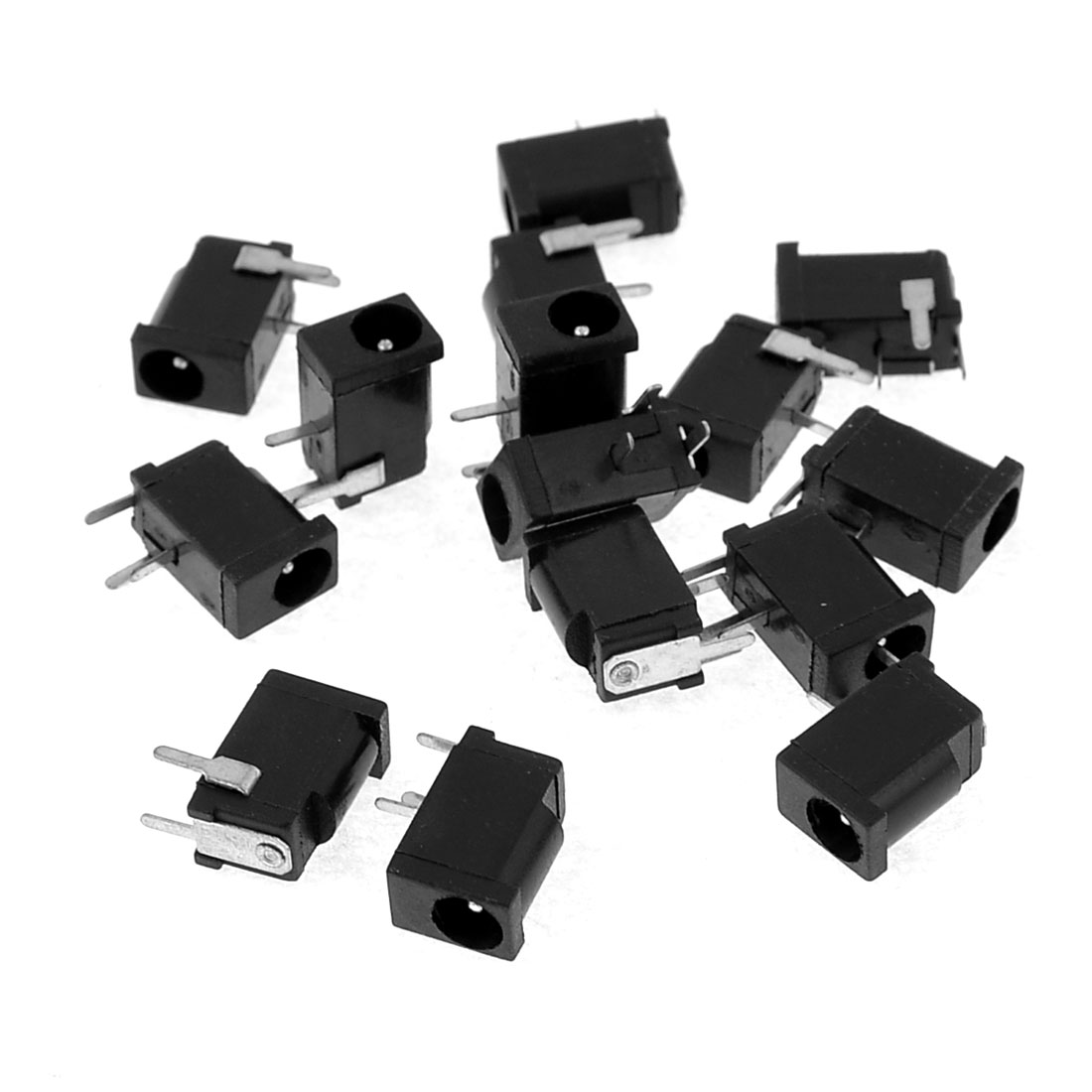 15 Pcs Replacement Part 3.5 x 1.3mm DC Jack Joint Power Socket