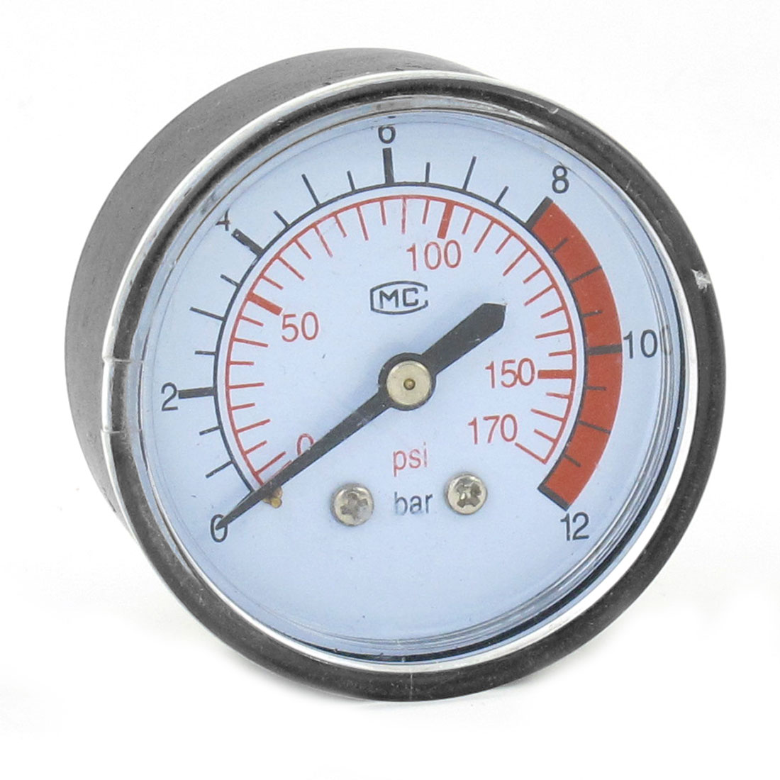 Hydrovane Air Pressure Compressor Gauge 0 - 170 PSI 0 - 12 Bar Tool