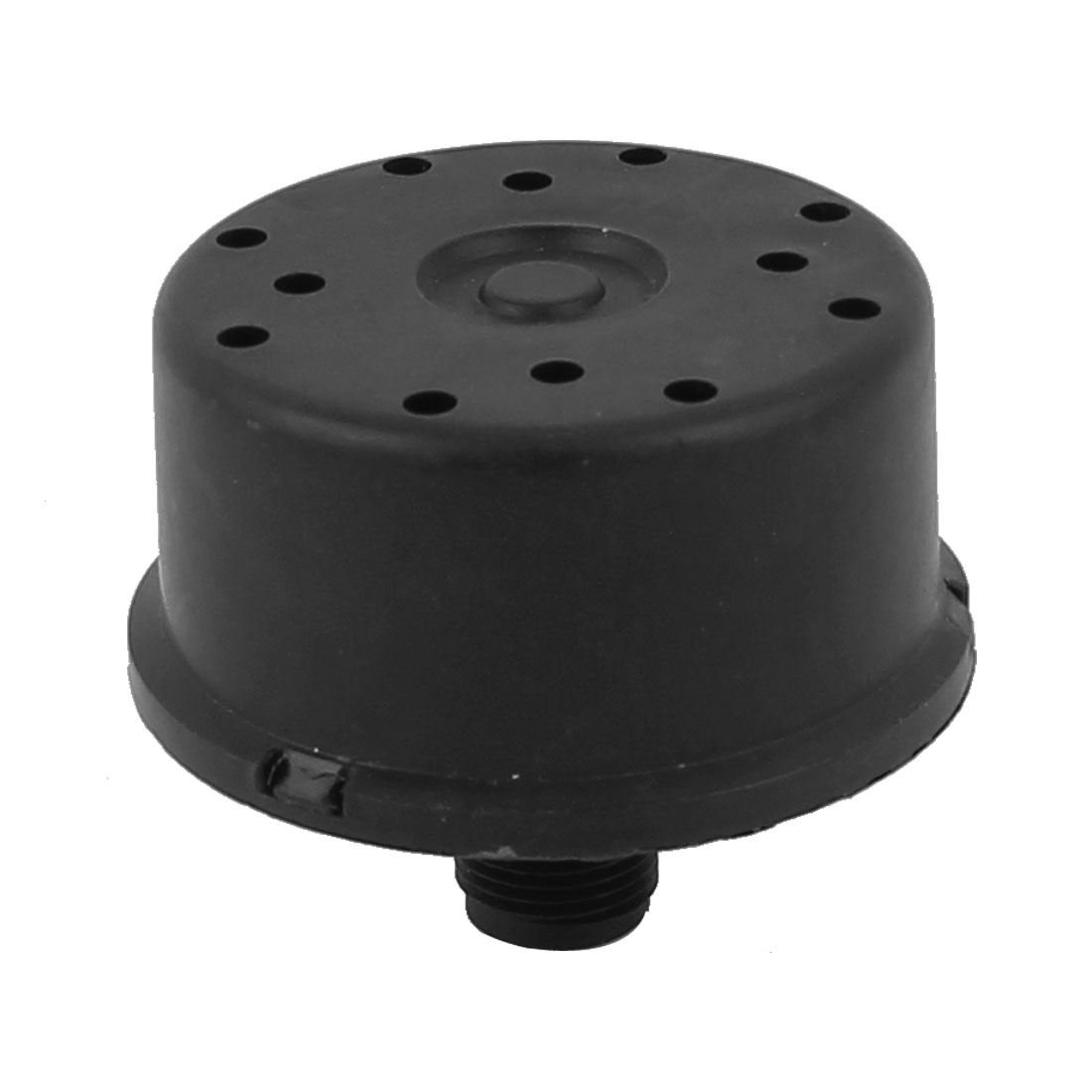 Air Compressor Plastic Black Shell 17mm Thread Filter Muffler