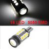 Car T15 W16W 194 W5W 8W 16 White SMD 5050 LED Panel Light Lamp Bulb internal
