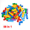 Children Kid Gift Plastic DIY Assemble Building Block Toy Bricks Assorted Color