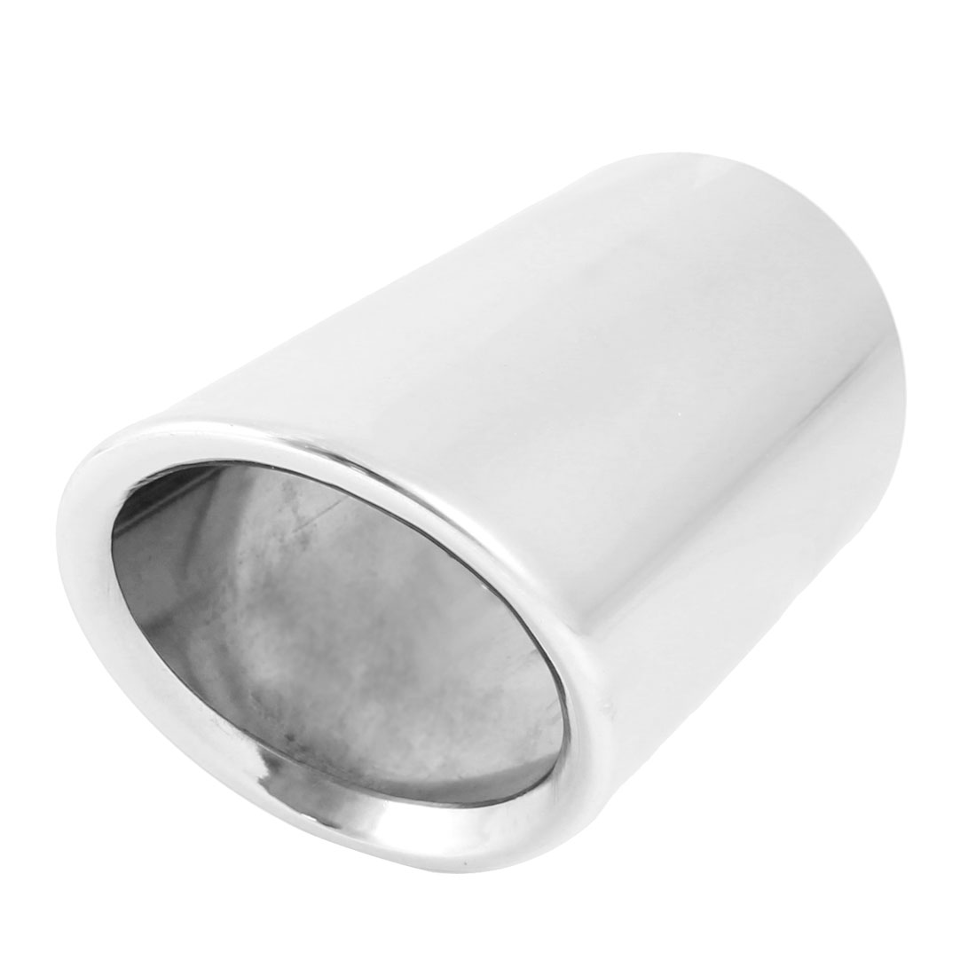 """Silver Tone 3.0"""" Inlet Silencer Tail Muffler Tip for AUDI Q5"""