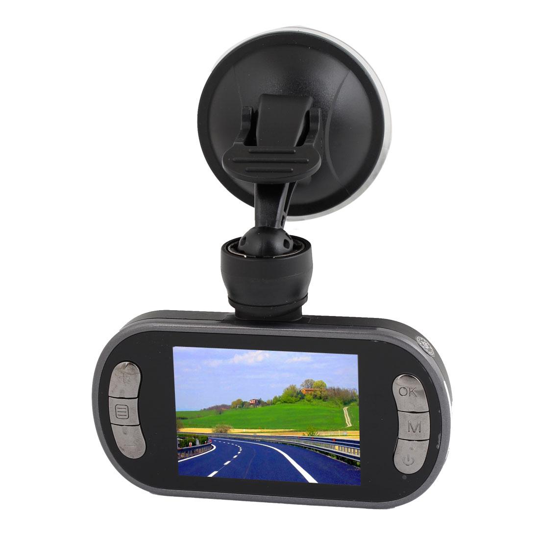 "2.4"" LCD 720P HD Car DVR Road Dash Video Double Camera Recorder Camcorder"