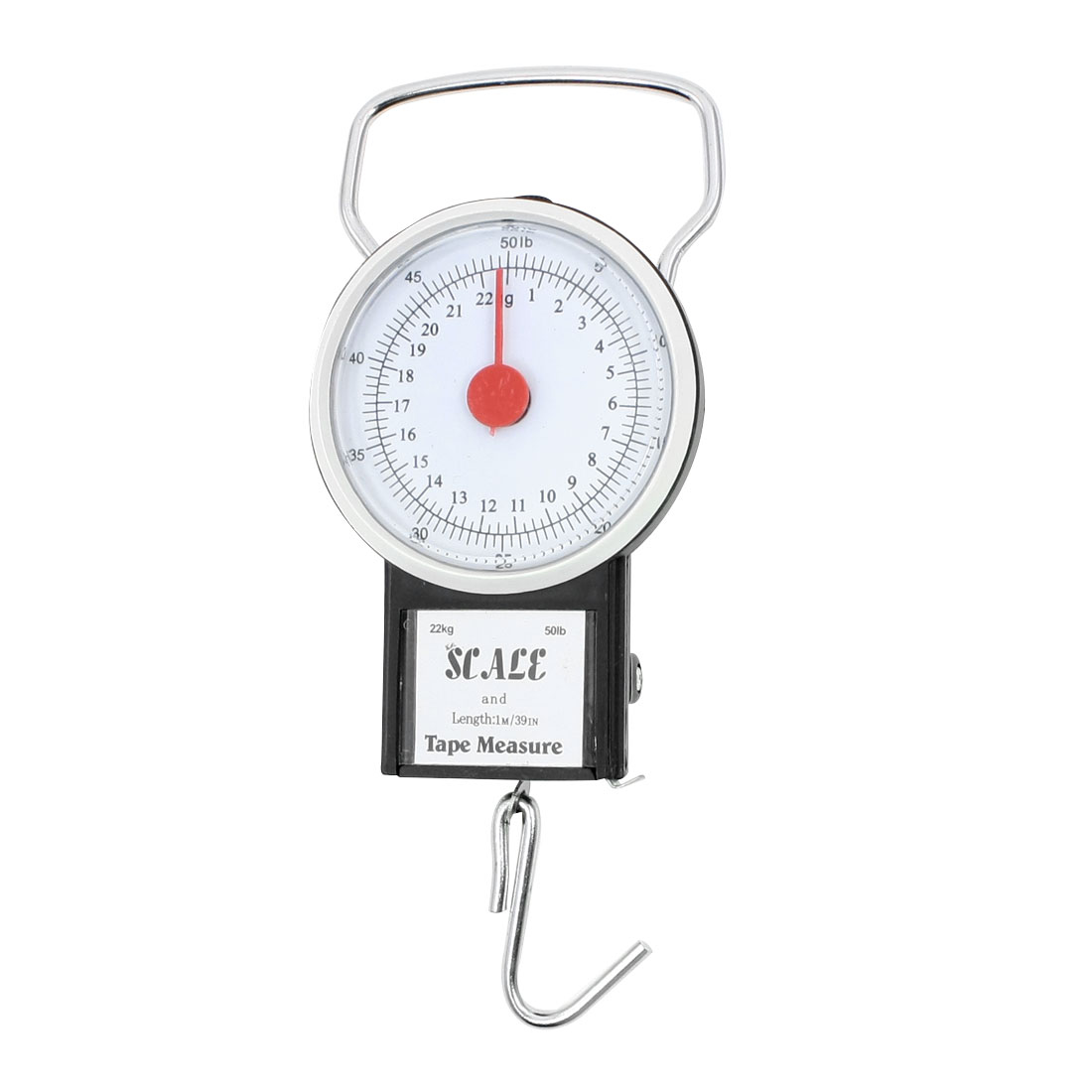 22kg 50lb Luggage Fishing Hanging Weight Measure Tool Handheld Scale